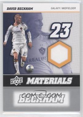 2008 Upper Deck MLS - MLS Materials #MM-7 - David Beckham