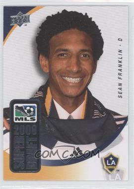2008 Upper Deck MLS - Super Draft #SD-9 - Sean Franklin
