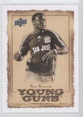 2008 Upper Deck MLS - Young Guns #YG-11 - Kei Kamara