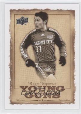 2008 Upper Deck MLS - Young Guns #YG-15 - Roger Espinoza