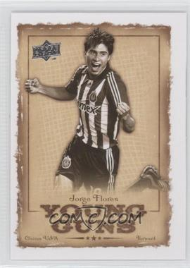 2008 Upper Deck MLS - Young Guns #YG-17 - Jorge Flores