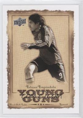 2008 Upper Deck MLS - Young Guns #YG-19 - Fabian Espindola