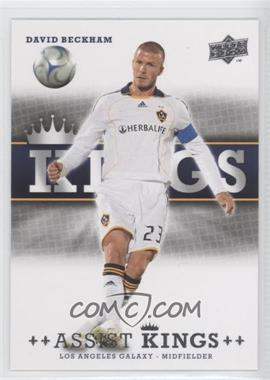 2008 Upper Deck MLS Assist Kings #AK-12 - David Beckham