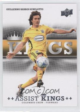 2008 Upper Deck MLS Assist Kings #AK-3 - Guillermo Barros Schelotto