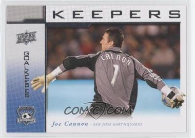 2008 Upper Deck MLS Goal Keepers #KP-14 - Joe Cannon