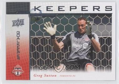 2008 Upper Deck MLS Goal Keepers #KP-15 - Greg Sutton