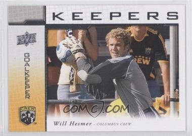 2008 Upper Deck MLS Goal Keepers #KP-3 - William Hesmer