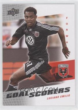 2008 Upper Deck MLS Goal Scorers #GS-14 - Luciano Emilio