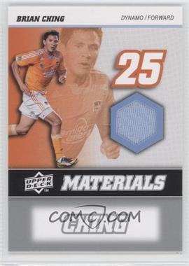 2008 Upper Deck MLS MLS Materials #MM-1 - Brian Ching