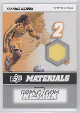 2008 Upper Deck MLS MLS Materials #MM-11 - Frankie Hejduk