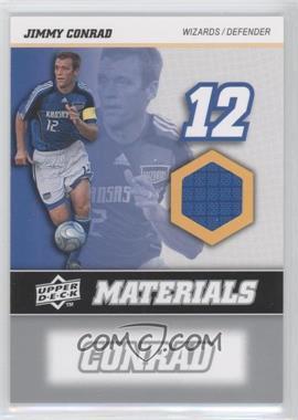 2008 Upper Deck MLS MLS Materials #MM-13 - Jimmy Conrad