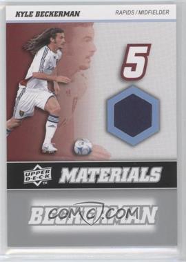 2008 Upper Deck MLS MLS Materials #MM-16 - Kyle Beckerman