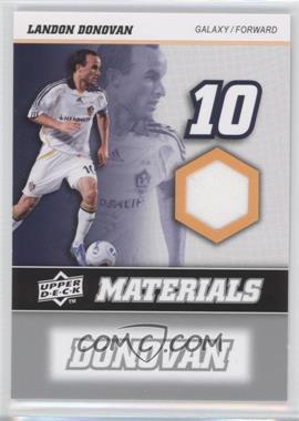 2008 Upper Deck MLS MLS Materials #MM-18 - Landon Donovan