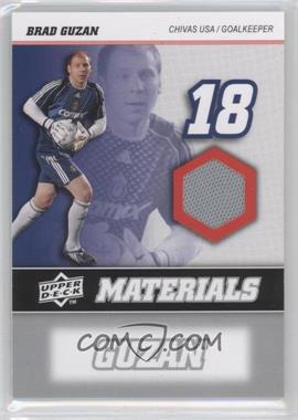 2008 Upper Deck MLS MLS Materials #MM-2 - Brad Guzan