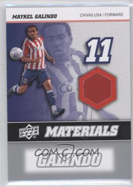 2008 Upper Deck MLS MLS Materials #MM-21 - Maykel Galindo