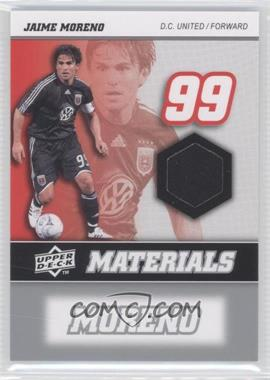 2008 Upper Deck MLS MLS Materials #MM-22 - Jaime Moreno