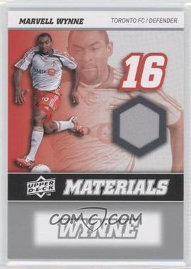 2008 Upper Deck MLS MLS Materials #MM-24 - Marvell Wynne