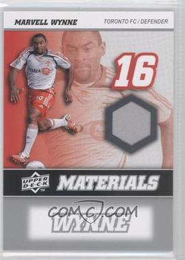 2008 Upper Deck MLS MLS Materials #MM-24 - Marvell Wynne