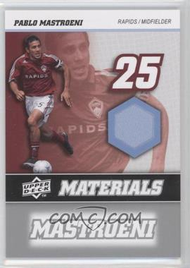 2008 Upper Deck MLS MLS Materials #MM-25 - Pablo Mastroeni