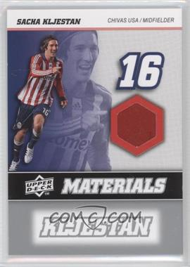 2008 Upper Deck MLS MLS Materials #MM-29 - Sacha Kljestan