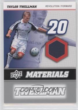 2008 Upper Deck MLS MLS Materials #MM-30 - Taylor Twellman