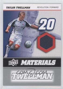 2008 Upper Deck MLS MLS Materials #MM-30 - Taylor Twellman
