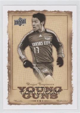 2008 Upper Deck MLS Young Guns #YG-15 - Roger Espinoza