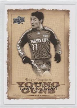 2008 Upper Deck MLS Young Guns #YG-15 - Roger Espinoza