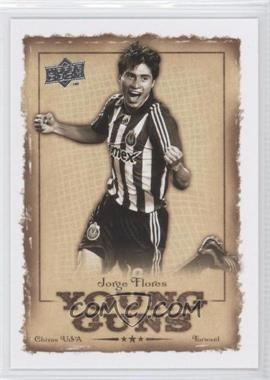 2008 Upper Deck MLS Young Guns #YG-17 - Jorge Flores