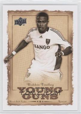 2008 Upper Deck MLS Young Guns #YG-9 - Robbie Findley