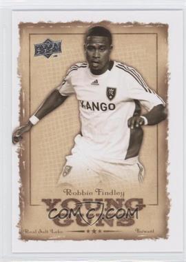 2008 Upper Deck MLS Young Guns #YG-9 - Robbie Findley