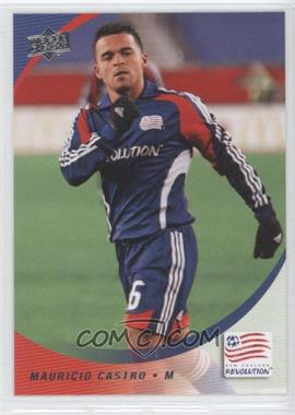 2008 Upper Deck MLS #169 - Mauricio Castro