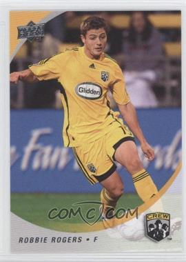 2008 Upper Deck MLS #19 - Robbie Rogers