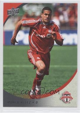 2008 Upper Deck MLS #190 - Manco Velez
