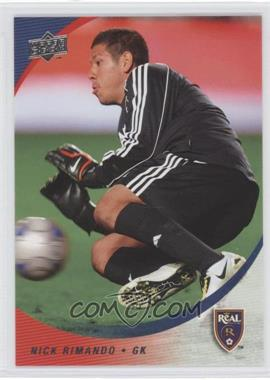 2008 Upper Deck MLS #82 - Nick Rimando