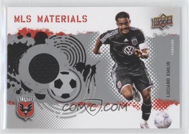 2009 Upper Deck MLS - Materials #MT-LE - Luciano Emilio