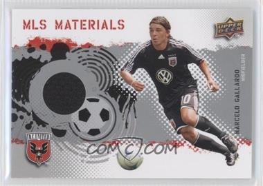 2009 Upper Deck MLS - Materials #MT-MG - Marcelo Gallardo