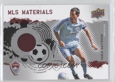 2009 Upper Deck MLS - Materials #MT-PM - Pablo Mastroeni