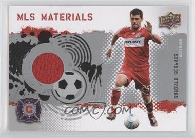 2009 Upper Deck MLS - Materials #MT-SE - Gonzalo Segares