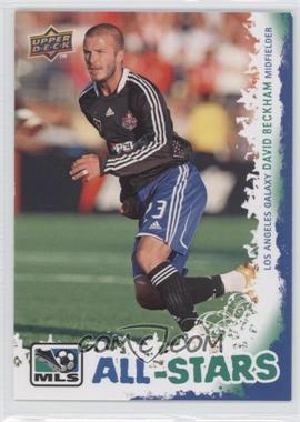 2009 Upper Deck MLS All-Stars #AS-6 - David Beckham