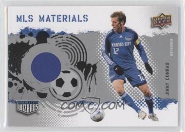 2009 Upper Deck MLS Materials #MT-CO - Jimmy Conrad