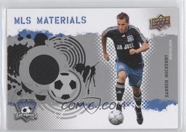 2009 Upper Deck MLS Materials #MT-DH - Darren Huckerby