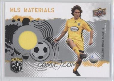 2009 Upper Deck MLS Materials #MT-GS - Guillermo Barros Schelotto
