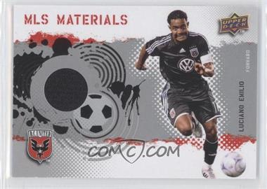 2009 Upper Deck MLS Materials #MT-LE - Luciano Emilio