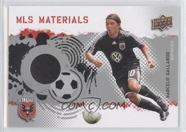 2009 Upper Deck MLS Materials #MT-MG - Marcelo Gallardo