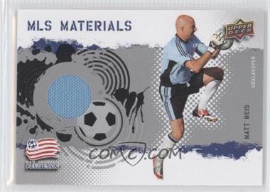 2009 Upper Deck MLS Materials #MT-MR - Matt Reis