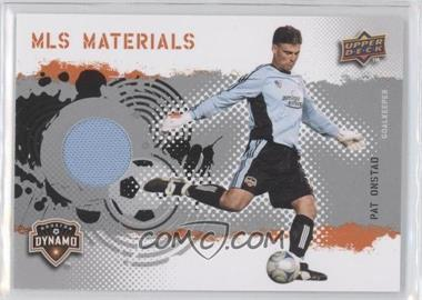 2009 Upper Deck MLS Materials #MT-PO - Pat Onstad