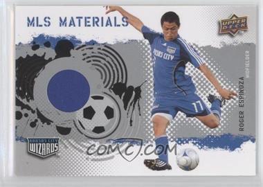2009 Upper Deck MLS Materials #MT-RE - Roger Espinoza