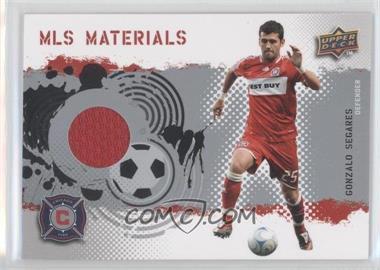 2009 Upper Deck MLS Materials #MT-SE - Gonzalo Segares