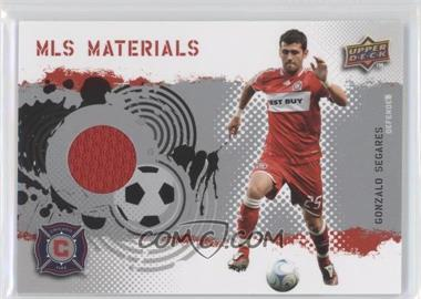 2009 Upper Deck MLS Materials #MT-SE - Gonzalo Segares